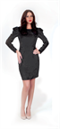 Rochie Maya negru L44 -So Love by Life Care® - cod 2154 Life Care