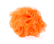 Life Care® orange bath sponge for delicate massage - Code 3164 Life Care