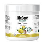 Urea foot cream for maintaining skin moisture, with BIO herbs Kräuter® - Code 4030 Life Care