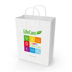 Large paper bag 26x13x34 cm - Code 99012 Life Care