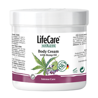 Body Cream with Hemp Oil and plants BIO Kräuter® - Code 4585 Lifecare