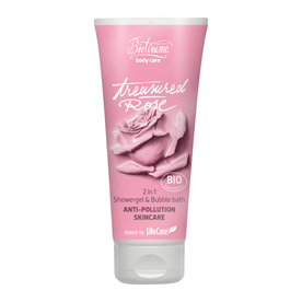 Treasured Rose 2 in 1 Shower Gel and Bubble Bath Biotissima® with BIO Rose Water - Code 21247 Life Care