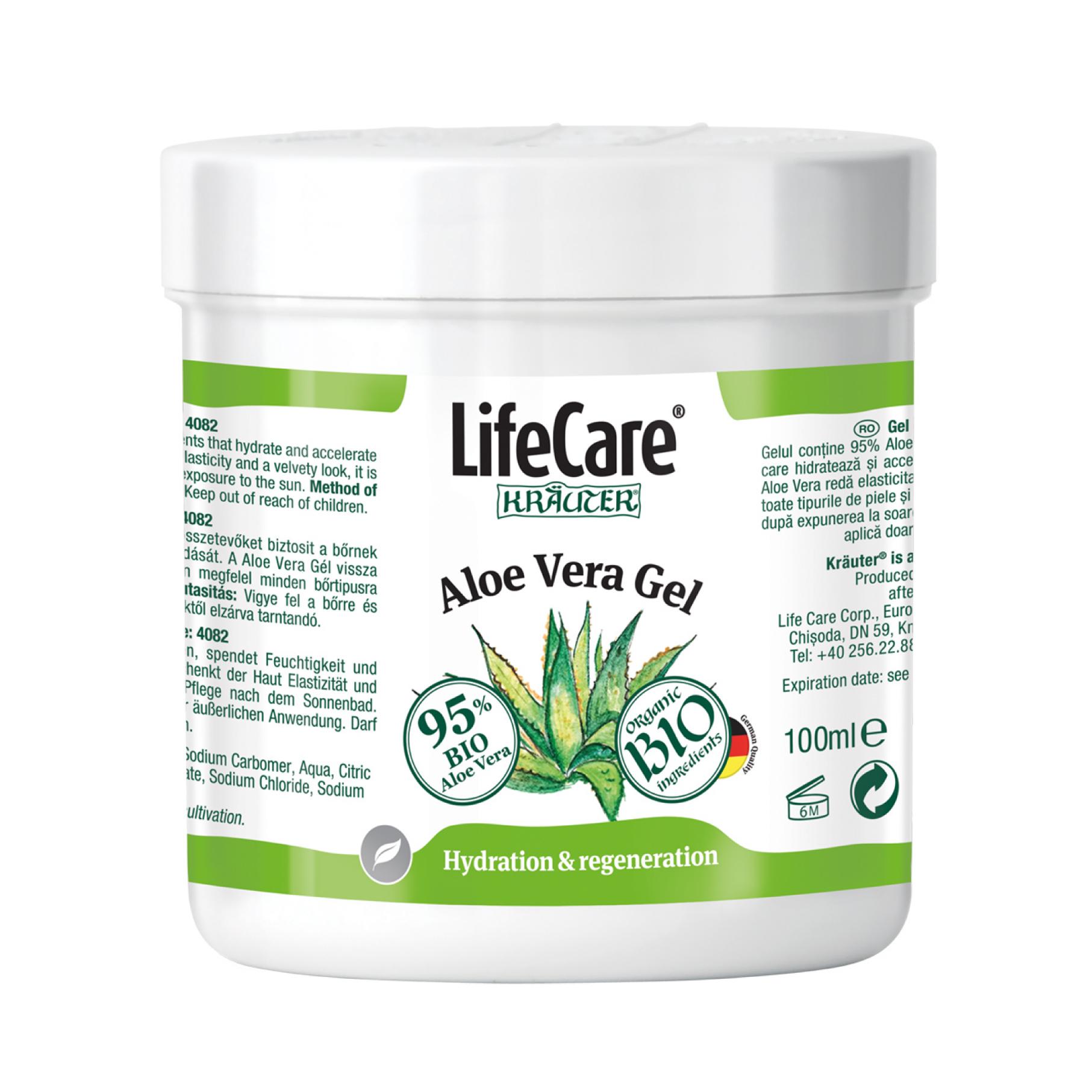 Life Care Life Impulse Gel BIO cu pulpa de Aloe Vera ml (Suplimente nutritive) - Preturi