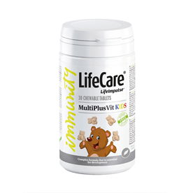 Life Impulse® MultiPlusVit KIDS - Multivitamine und Calcium für Kinder - Über den Brand 7620 Life Care